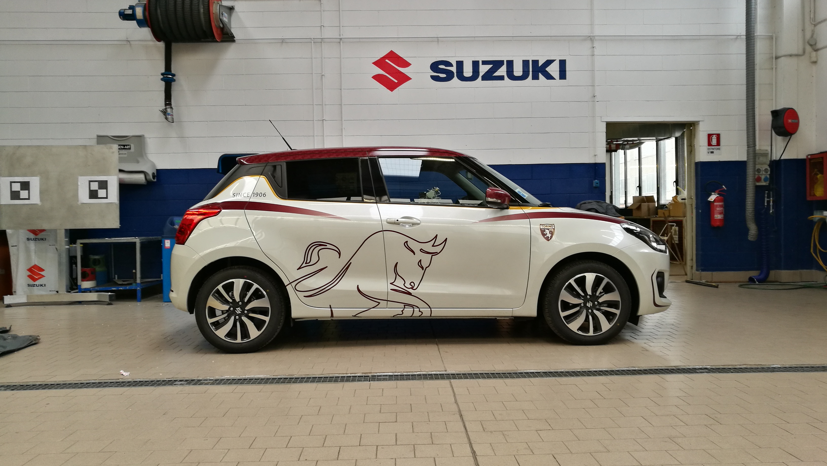 lavoro finito Suzuki Toro Edition