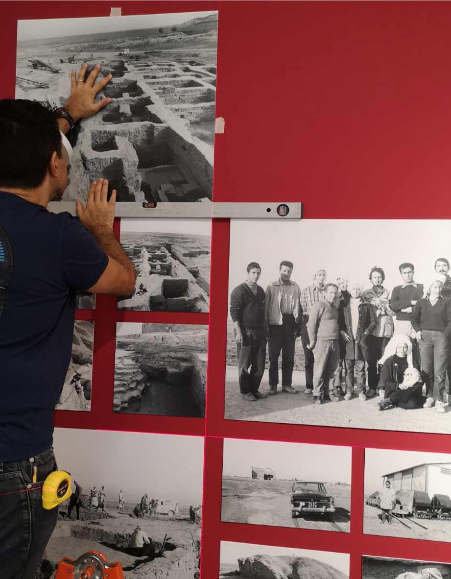 allestimento museo mao per mostra sponde tigri a Torino 4