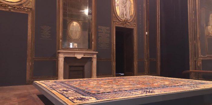 decorazione pareti torino del museo dei tappeti