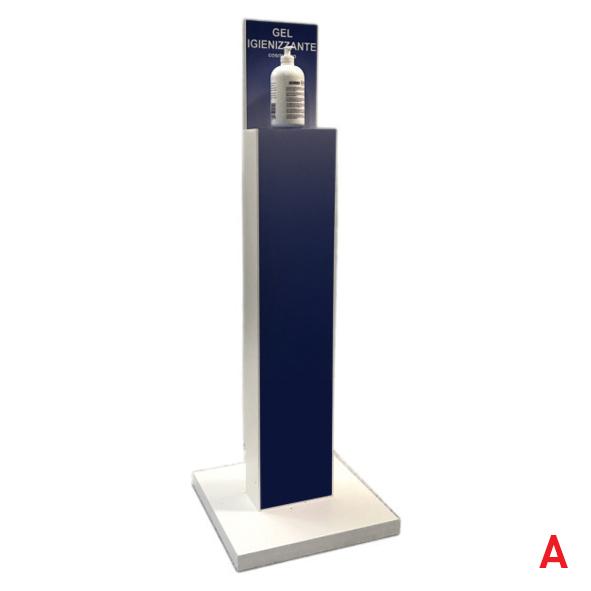 colonna gel igienizzante prodotto utile per la sanificazione delle mani in un ambiente pubblico A