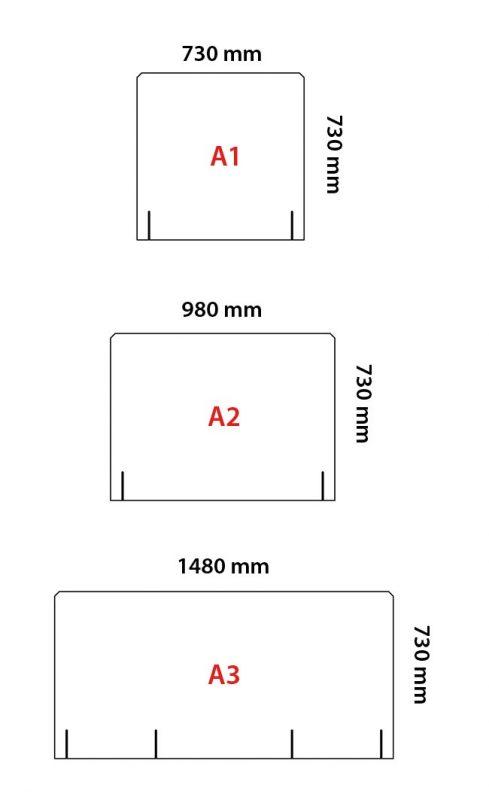 pannelli protettivi in plex anti covid-19