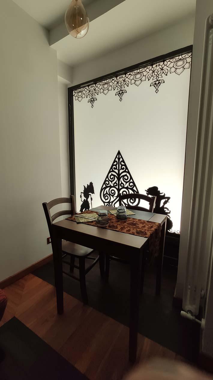 lanterna luminosa ristorante indonesiano torino