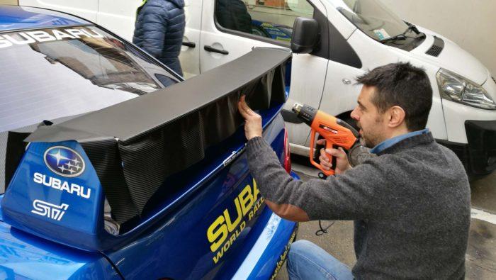 Strisce auto tuning personalizzate a Torino
